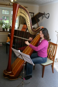 Learning to Play the Harp